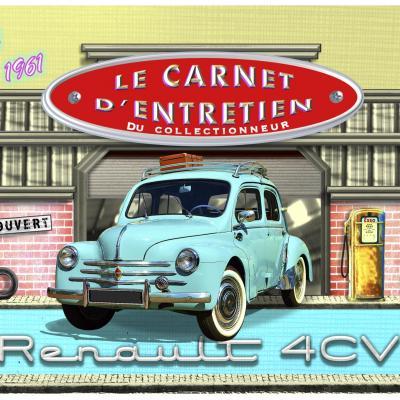 Carnet d'entretien renault 4CV