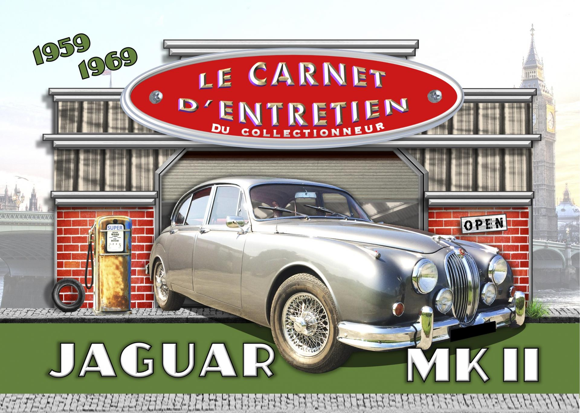 Carnet d entretien jaguar mk2 1