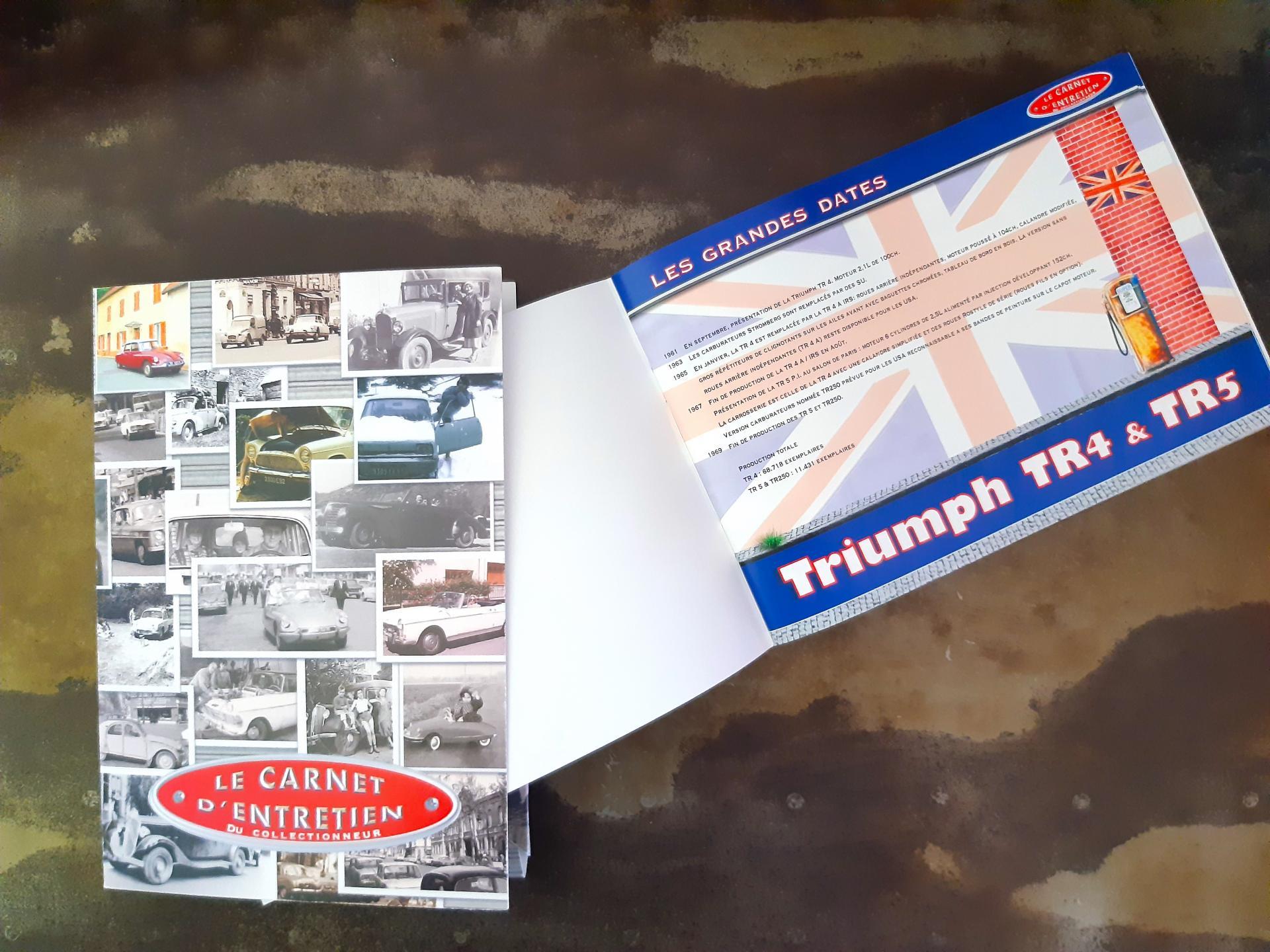 Carnet d entretien tr4