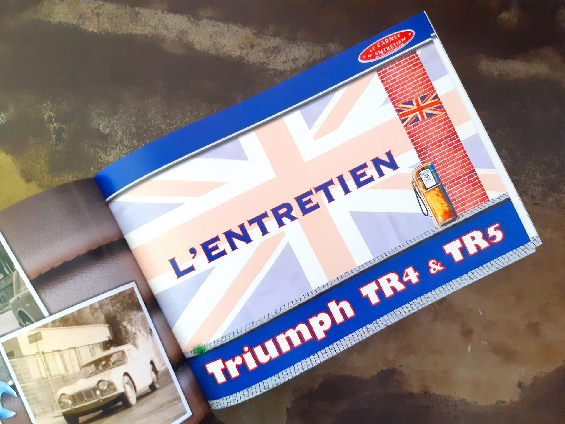 Carnet d entretien triumph tr4 et 5