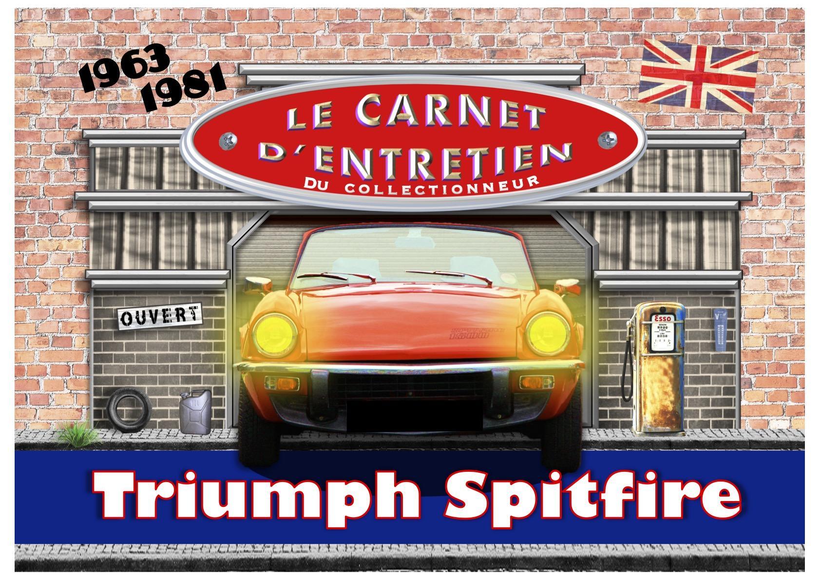 Carnet d'entretien triumph spitfire
