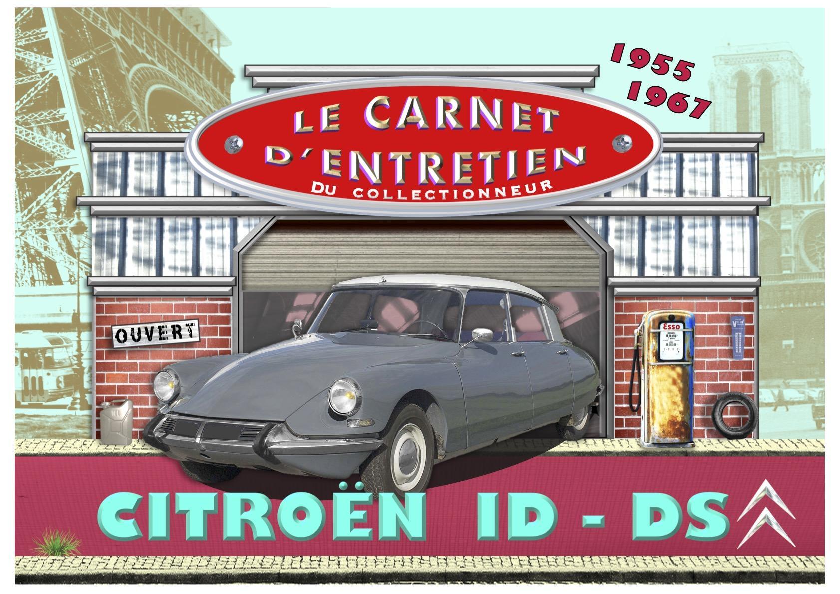 carnet d'entretien Citroën DS ID 1955 - 1967