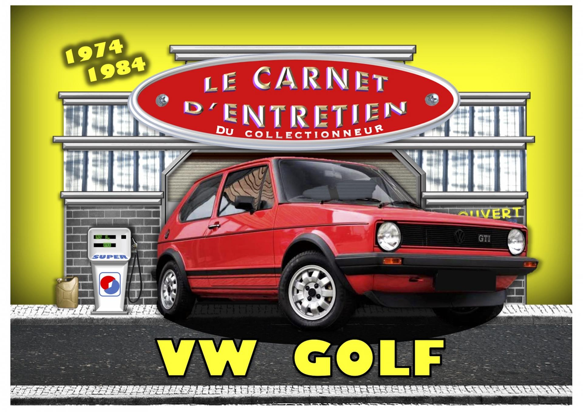 Carnet d'entretien Volkswagen golf