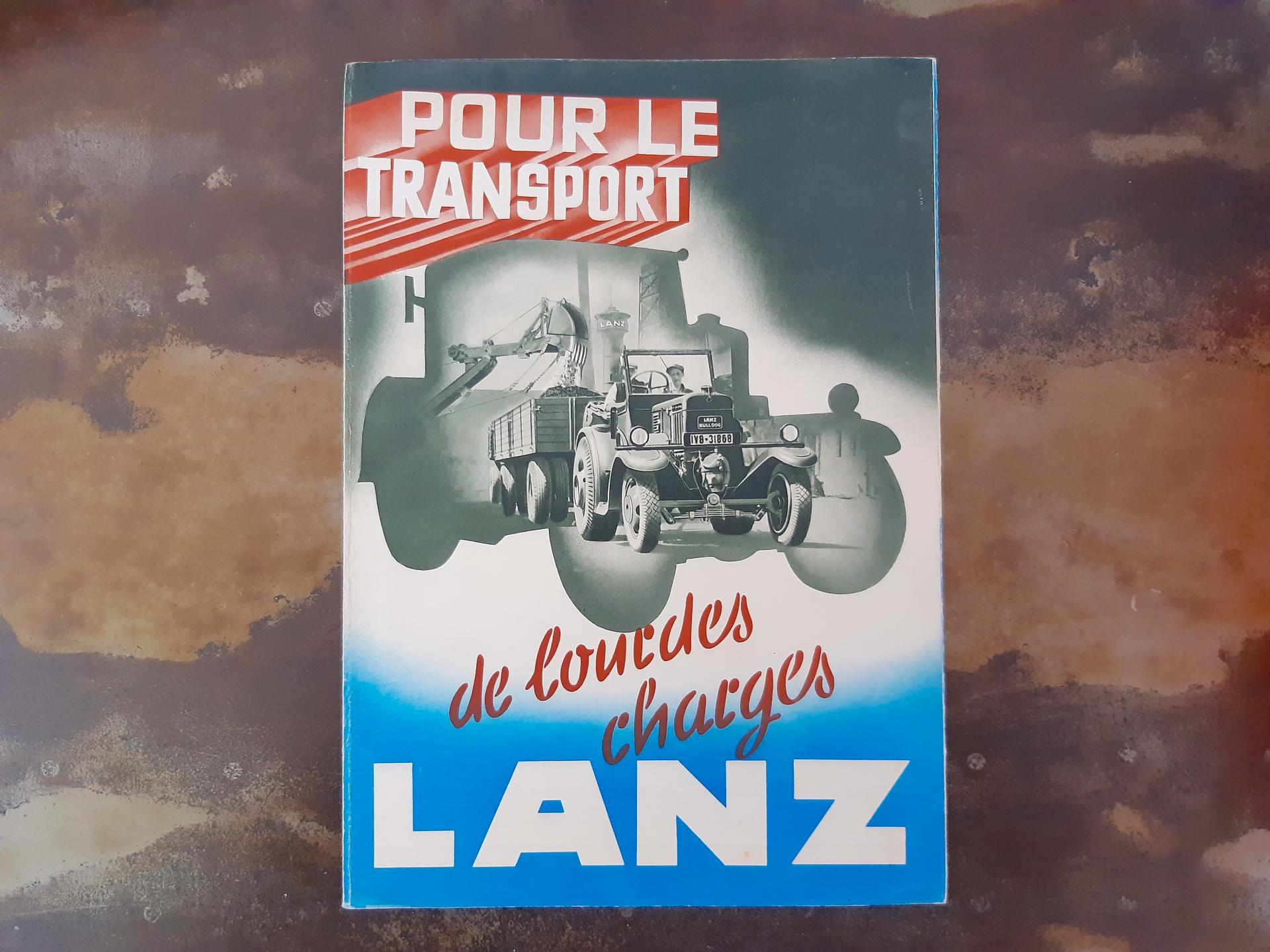Lanz tracteur charge lourde