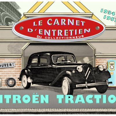 carnet d'entretien CitroënTraction