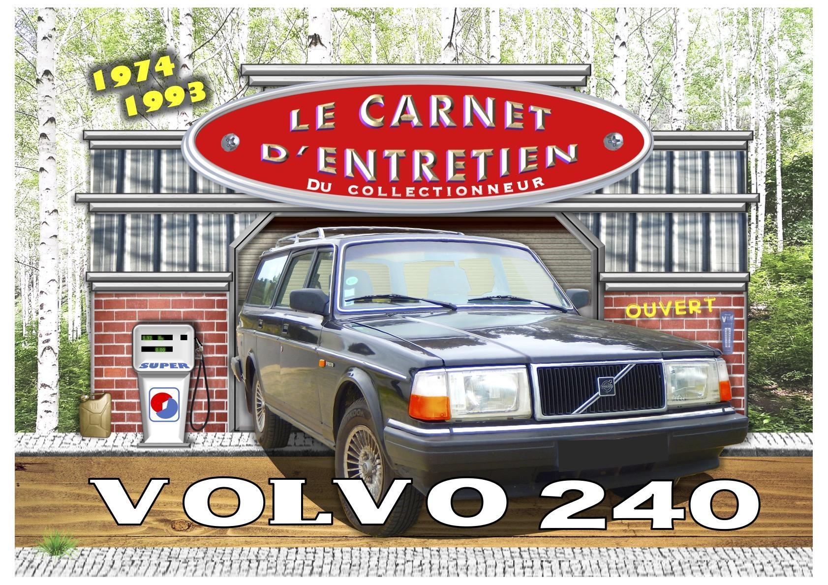 carnet d'entretien Volvo 240
