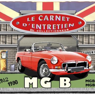 Carnet d'entretien MGB MGBGT